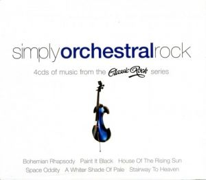 London Symphony Orchestra - Simply Orchestral Rock [4CD] (MP3)