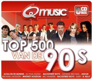 Q-Music Top 500 van de 90's Box (FLAC)