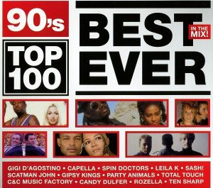 90's Top 100 Best Ever In The Mix